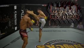 Dustin Joynson on Head Kick KO at Hard Knocks 53 | MMA Meltdown