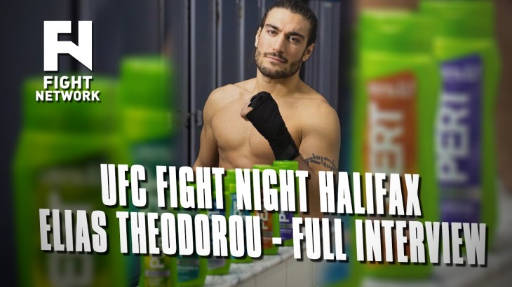 Elias Theodorou on Pert Plus Sponsorship, 'Mane Event', UFC Halifax & More – Full Interview