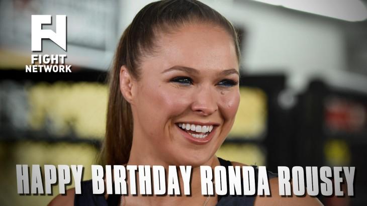 Happy Birthday Ronda Rousey!