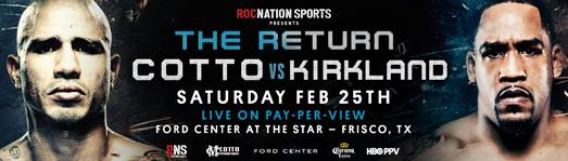 James Kirkland Suffers Nose Fracture; Bout vs. Miguel Cotto Cancelled