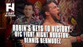 Robin's Breakdown: Keys to Victory – UFC Fight Night Houston: Dennis Bermudez
