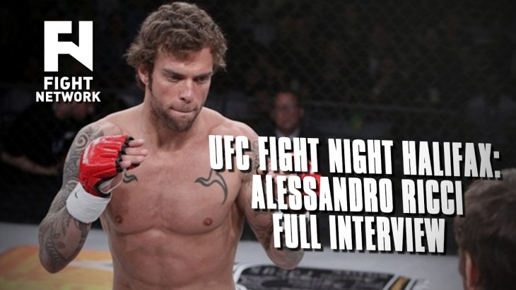 UFC Fight Night Halifax: Alessandro Ricci – Full Interview