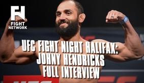 UFC Fight Night Halifax: Johny Hendricks – Full Interview with John Pollock