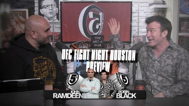 UFC Fight Night Houston: Bermudez vs. Korean Zombie Preview | 5 Rounds – Full Show