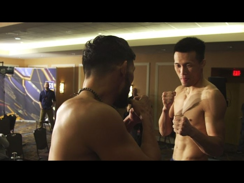 UFC Fight Night Houston: Bermudez vs. Korean Zombie Weigh-in Highlights