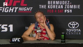 "UFC Houston: Felice Herrig Post-Fight Press Conference – ""(Waterson) is a Fight I've Always Wanted."""