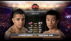 Watch Chan Sung Jung Catch Leonard Garcia in a Twister From UFC Fight Night Seattle