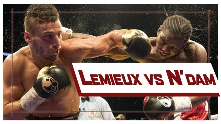 Watch David Lemieux Defeat Hassan N'Dam from June 20, 2015