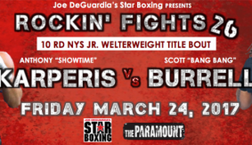 Rockin' Fights Results: Karperis Stops Burrell in Fourth Round