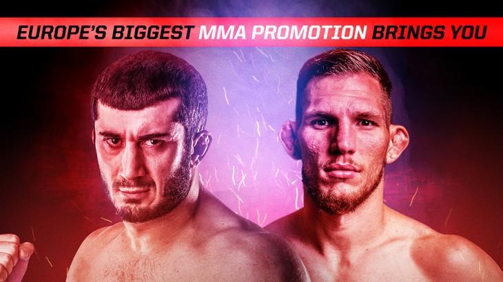 Mamed Khalidov vs. Luke Barnatt Set For Absolute Championship Berkut 51 on March 11 in Manchester