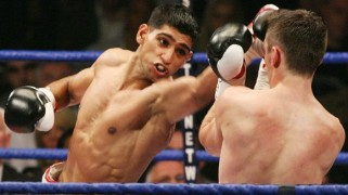 Amir Khan States Fight with Floyd Mayweather is Near