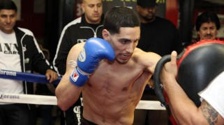 Danny Garcia Feels Better at Welterweight