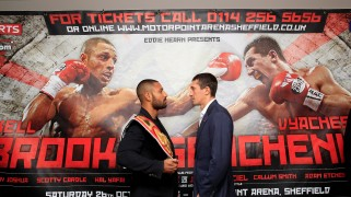Brook-Senchenko Tops Saturday's Bill from Sheffield, U.K.