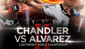 Quick Shots – Bellator MMA 106: Alvarez Tops Chandler
