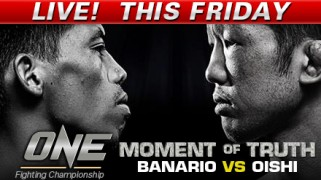 ONE FC: Moment of Truth LIVE Friday @ 6a ET on Fight Network