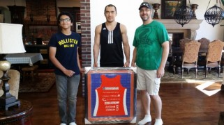Beibut Shumenov Honorary Team Challenge Captain