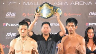 ONE FC 13 LIVE on Fight Network Weigh-in Results
