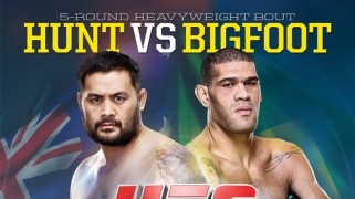Quick Shots – UFC Fight Night 33: Hunt, Bigfoot Draw