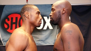 Thursday's ShoBox Weigh-in Results, Quotes & Photos