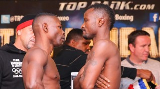 HBO Boxing: Rigondeaux vs. Agbeko Weigh-in Results & Photos