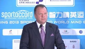 Marius L. Vizer Steps Down as SportAccord President