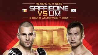 Quick Shots – UFC Fight Night 34: Saffiedine Chops Down Lim