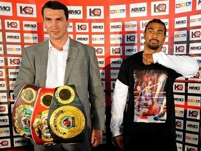 Boxing Briefs Mar. 7 – Wladimir Klitschko-David Haye Set