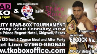 Oakey-Elcock Set for Feb. 22 TRAD TKO Charity Boxing Event