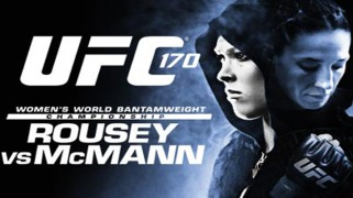 Quick Shots – UFC 170: Rousey Drops McMann with Liver Shot