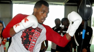 Jermall Charlo Houston Media Workout Quotes & Photos