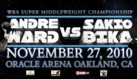 Sakio Bika Ready for World Title Battle with Andre Ward