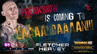 Fletcher vs. Hervey Set for BAMMA 15 LIVE on Fight Network