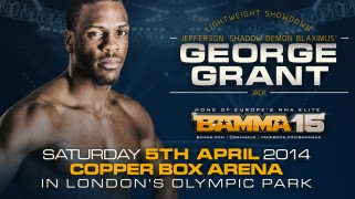 Jack Grant Replaces Dyson Roberts at BAMMA 15 on April 5