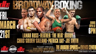 Full 'Broadway Boxing' Card Announced for March 21