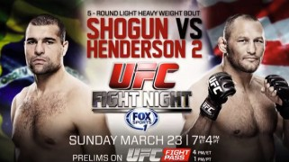 UFC Fight Night: Henderson vs. Shogun 2 Weigh-in Results