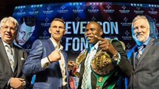 Stevenson vs. Fonfara 'Collision' on May 24 in Montreal, QC.