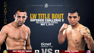 Madadi vs. Escudero Title Bout Tops Superior Challenge 10