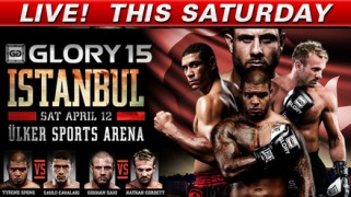 Quick Shots – GLORY 15 Istanbul LIVE on Fight Network