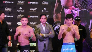 ONE FC 15 LIVE on Fight Network Weigh-in Results & Photos