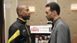 Star Boxing's Rodriguez, Hanks on ESPN Friday Night Fights