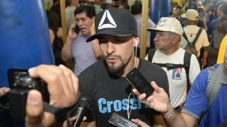 Guerrero vs. Kamegai Media Workout Quotes & Photos