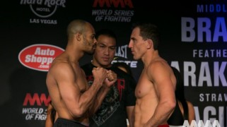 WSOF 10: Branch vs. Taylor Weigh-in Results & Photos
