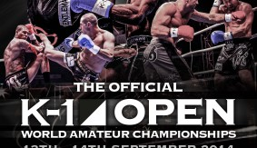K-1 Open World Amateur Championships Sept. 13-14 in London