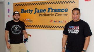 Ray Sefo, Jon Fitch Visit Halifax Health Medical Center