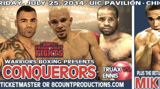Caleb Truax Out of Redemption Against Derek Ennis July 25