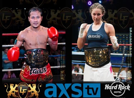 Fairtex, Baars to Return at Lion Fight 18 on Sept. 5