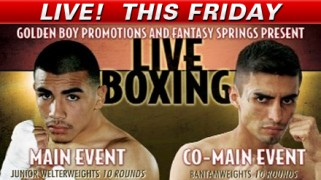 Golden Boy LIVE Fri @ 11p ET on Fight Network (Canada)