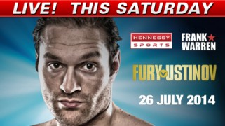 Fury vs. Ustinov LIVE Saturday @ 2p ET on Fight Network