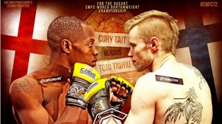Tait vs. Tauru Set for Vacant 135 Title at Cage Warriors 72