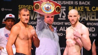 HBO Boxing: Kovalev-Caparello Full Weigh-in Results & Photos